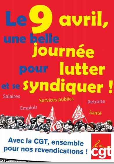 Syndicat CFTC , 9 Avril ,Loi Macron...et....LES Blogs SYNDICAT CGT AUTO INERGY DIVISION GROUPE PLASTIC OMNIUM