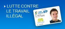 Carte d'identification dans le BTP