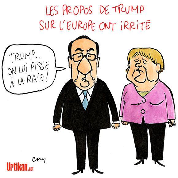 L'Europe répond à Donald Trump....
