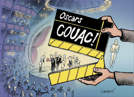 Oscars: &quot&#x3B;And the winner is NOT...&quot&#x3B;......PAR CHAPPATTE