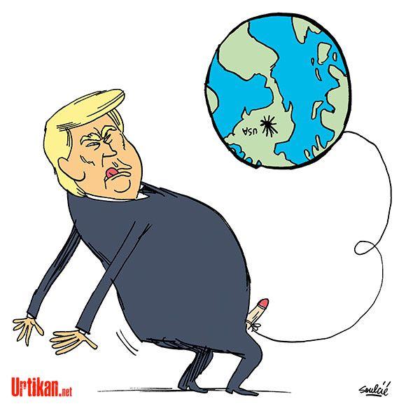 Mondialisation : Trump, un président au style viril