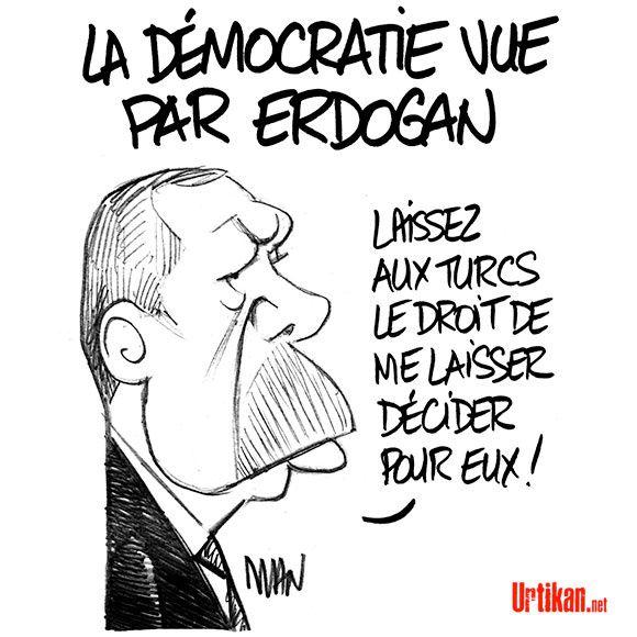 Erdogan : Crise entre l'Europe et la Turquie