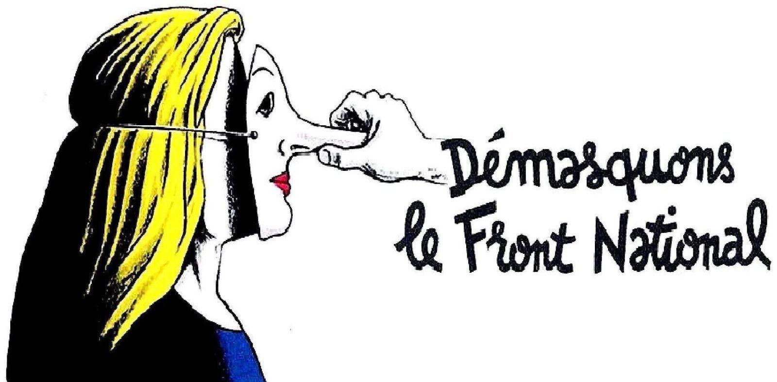 FRANCE 2017-La CGT alerte contre le Front national à un mois du scrutin