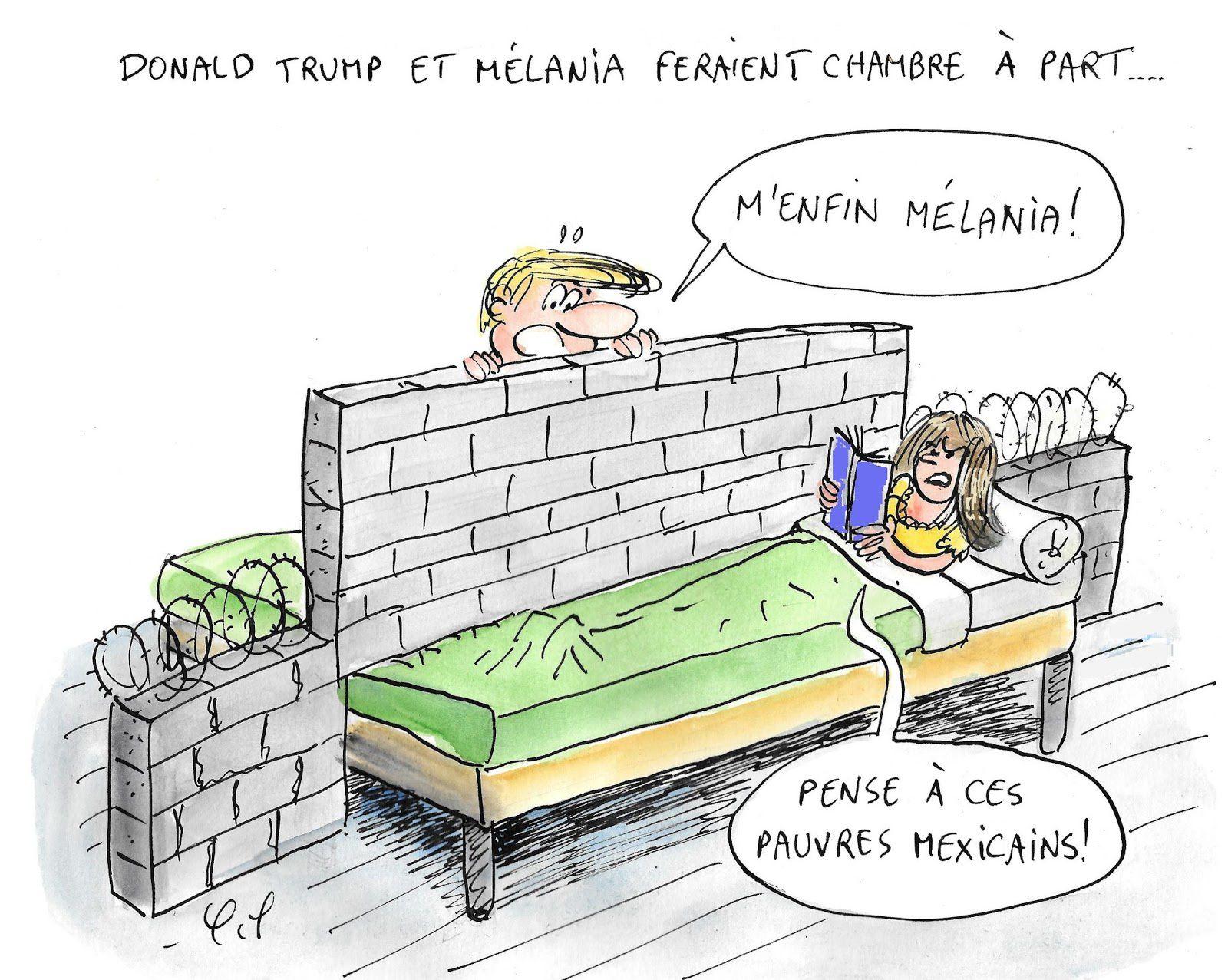 Donald et Mélanie ...