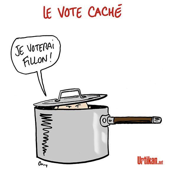 François Fillon et la stratégie du «vote caché»