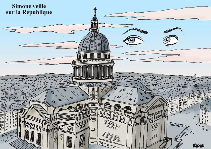 Simone Veil rentrera au Panthéon