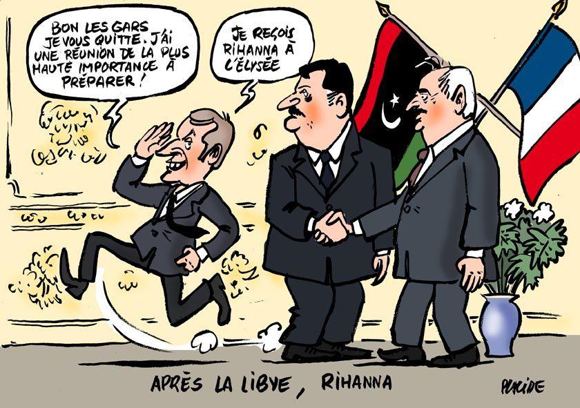 Macron réconcilie les frères ennemis libyens
