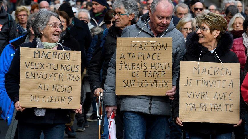 Retraite Manifestation Nationale Des Retraites Pour Exiger L