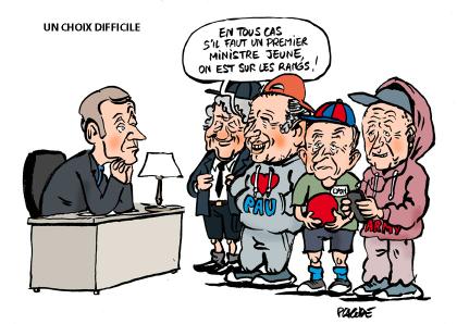Quel premier ministre pour Emmanuel Macron....