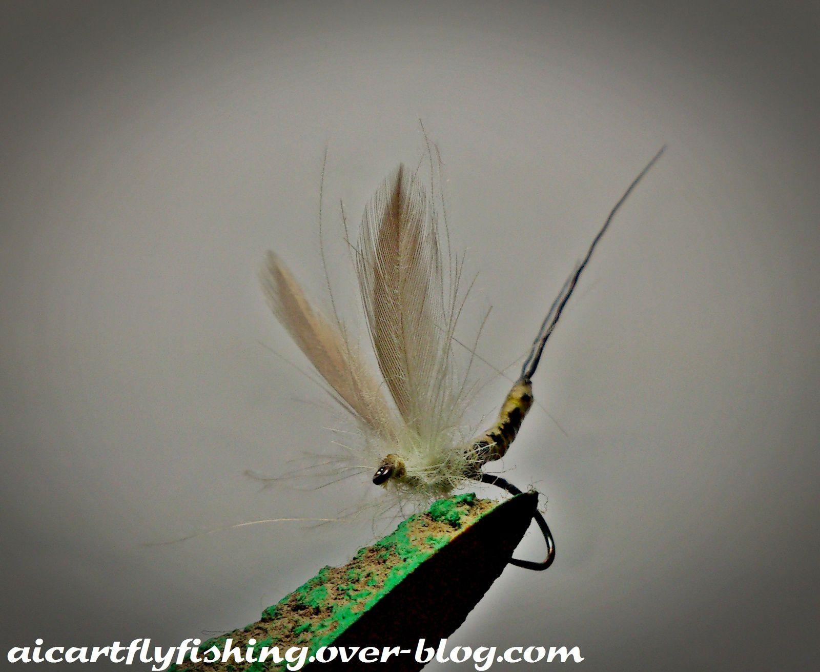 Montaje Ephemera Dánica. Mayfly tying.
