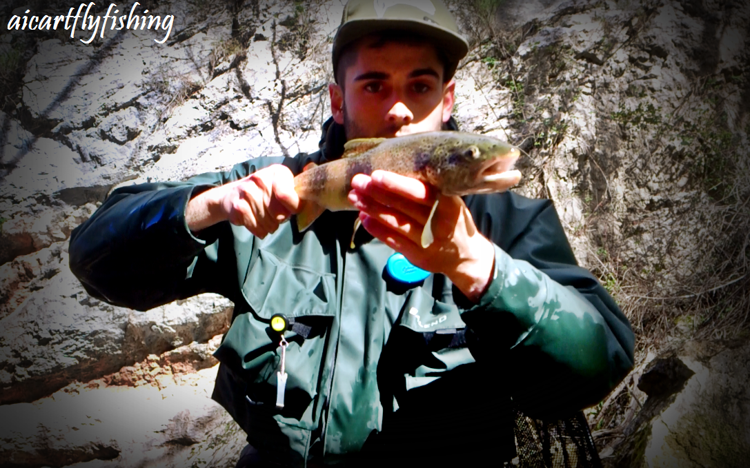 Primeras jornadas de pesca - First flyfishing days.