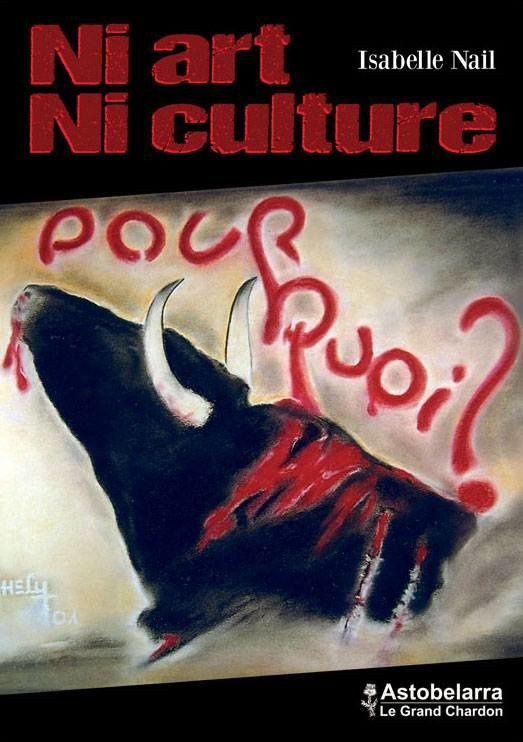 Pastel de couverture Thierry Hély, président de la FLAC anticorrida.