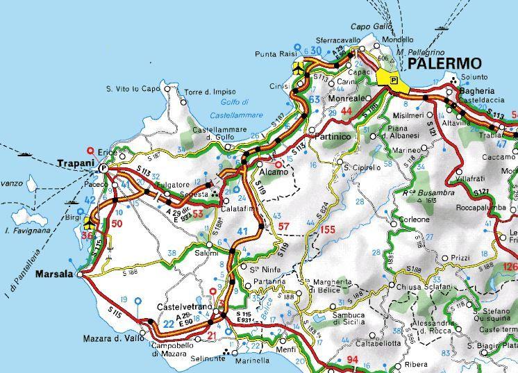2015 sicile et italie du sud le blog de l 39 extravagant voyage de christian - Dimension de la sicile ...