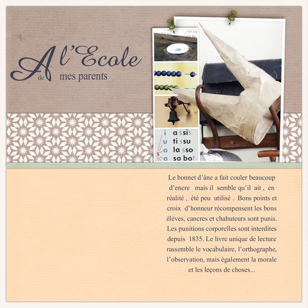 template Snail Scrap, kit Cherish par Hilde