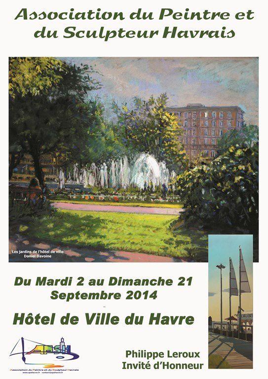 L'APSH s'expose au Forum de l'hôtel de Ville du Havre