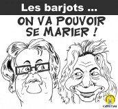 Barjot et Boutin vont pouvoir se marier