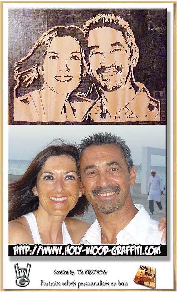 Un portrait pour leur anniversaire de mariage : 5 ans