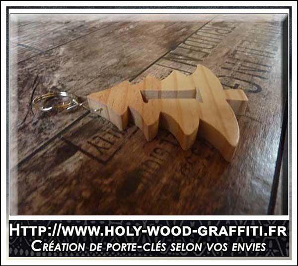 Porte-clés d' un centimetre d'épais