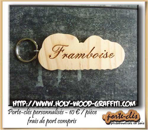 Porte-clés pour la chambre Framboise