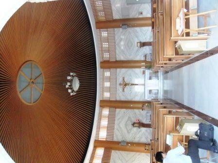 Le sanctuaire de la Vierge Marie à Ilan 五峰旗聖母朝聖地
