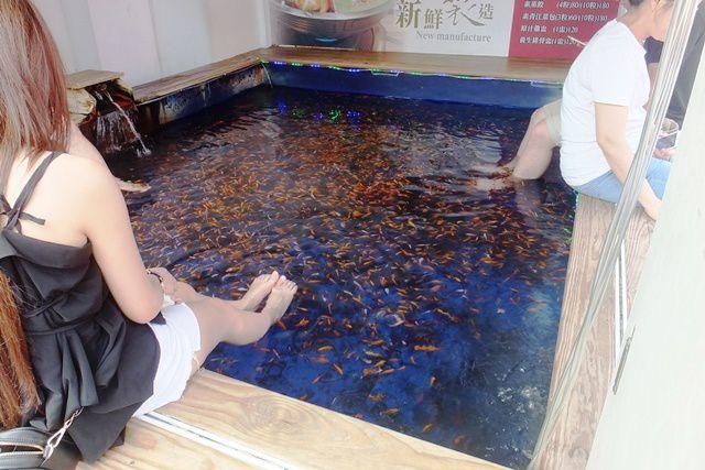 FISH PEDICURE A JIAOXI 礁溪溫泉
