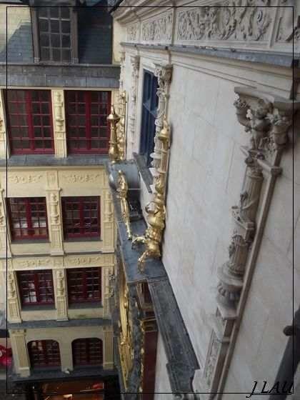 Rouen - Gros horloge et Beffroi