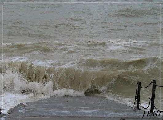 Varengeville sur mer - tempête