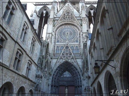 Rouen - rue  Saint Romain