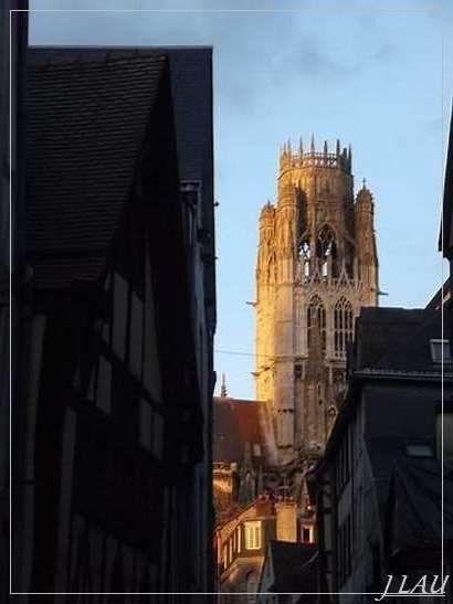 Rouen - Abbatiale saint - Ouen