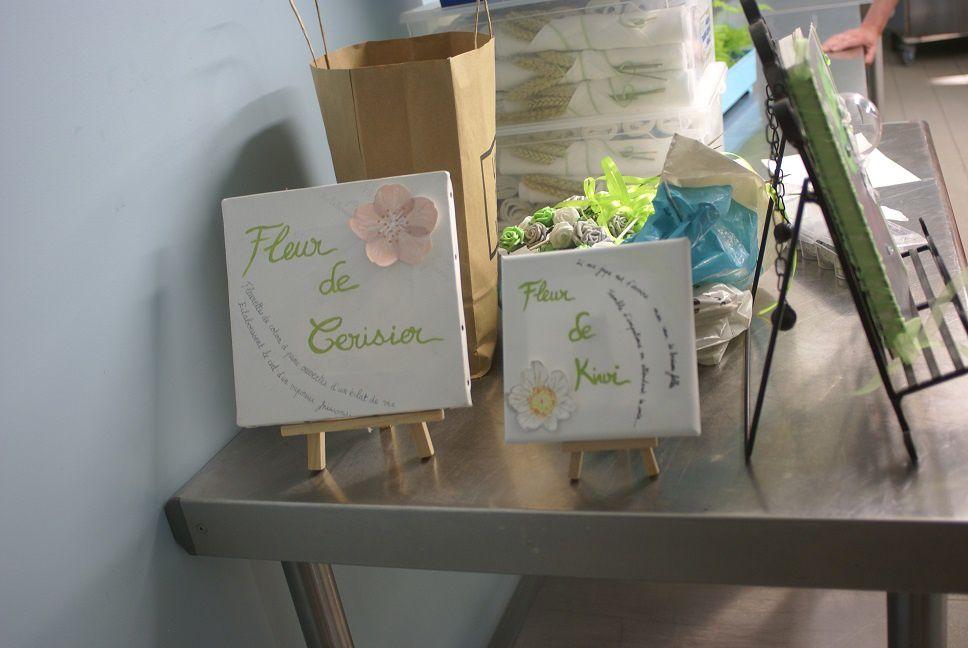 Fleur de kiwi