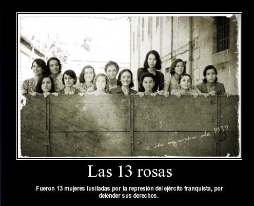 Les treize roses las trece rosas coco magnanville for La table de treize
