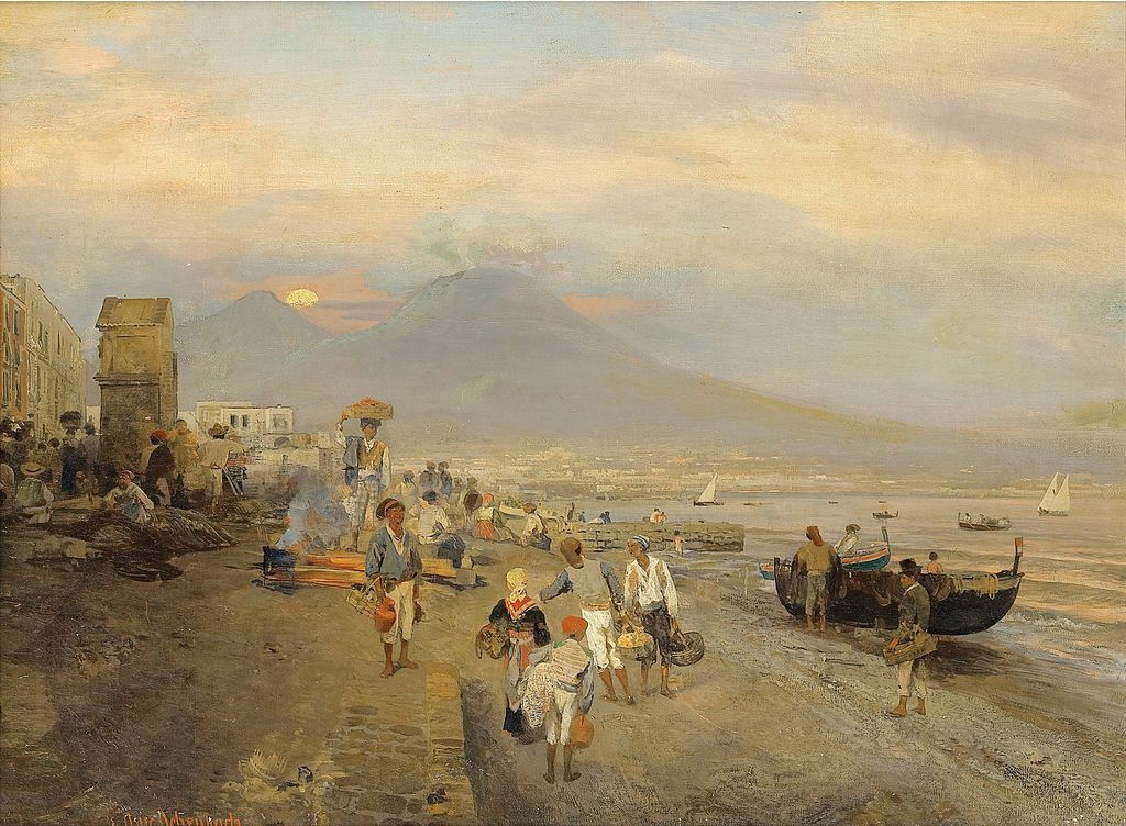Par Oswald Achenbach — Sotheby's, Domaine public, https://commons.wikimedia.org/w/index.php?curid=21215722