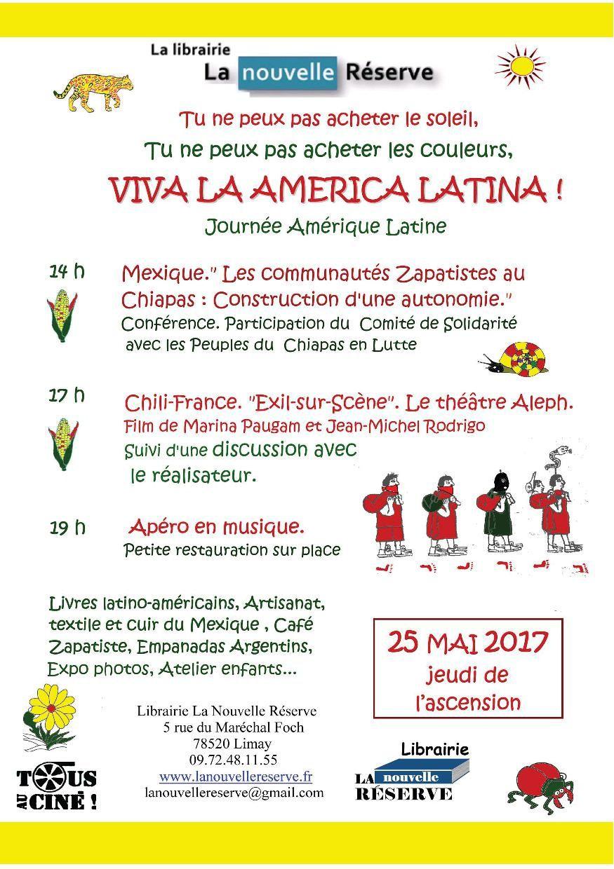 Viva la America latina à la librairie la nouvelle Réserve - Limay (78)