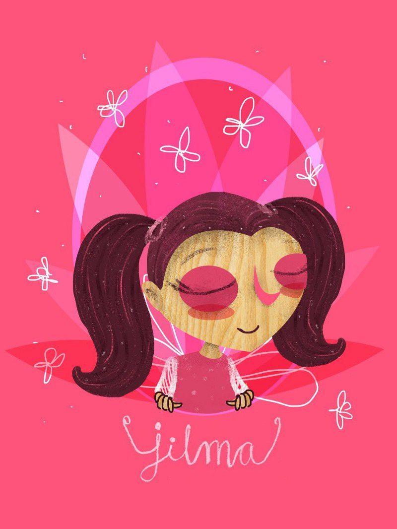 17. Jilma Sucely Carías López 14 años Ilustración: Sandy Rodríguez-Guatemala