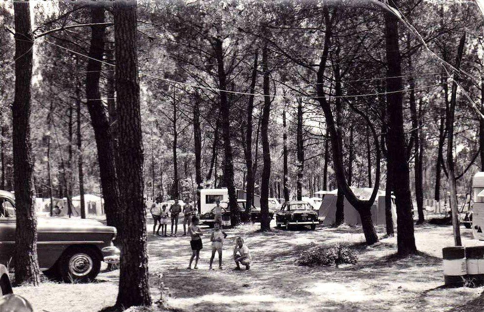 Camping Mon désir. Années 60