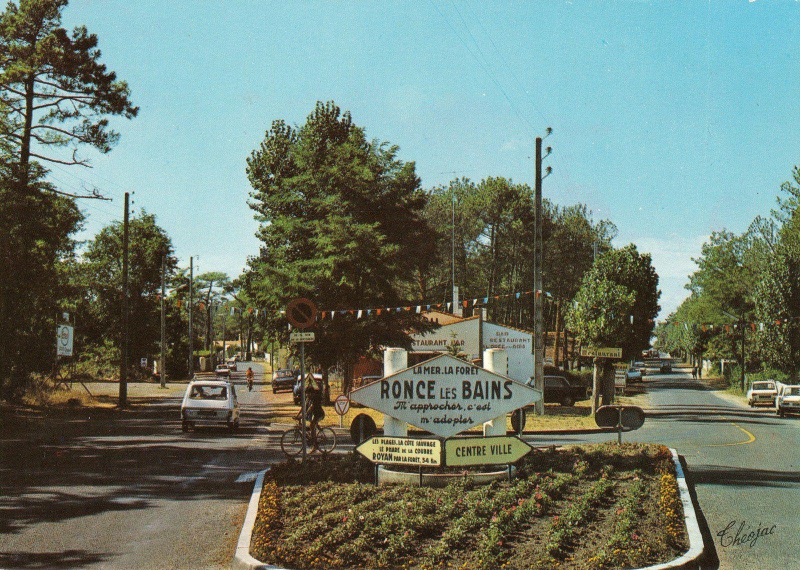 Entrée de Ronce. Renault 6 (Années 70)