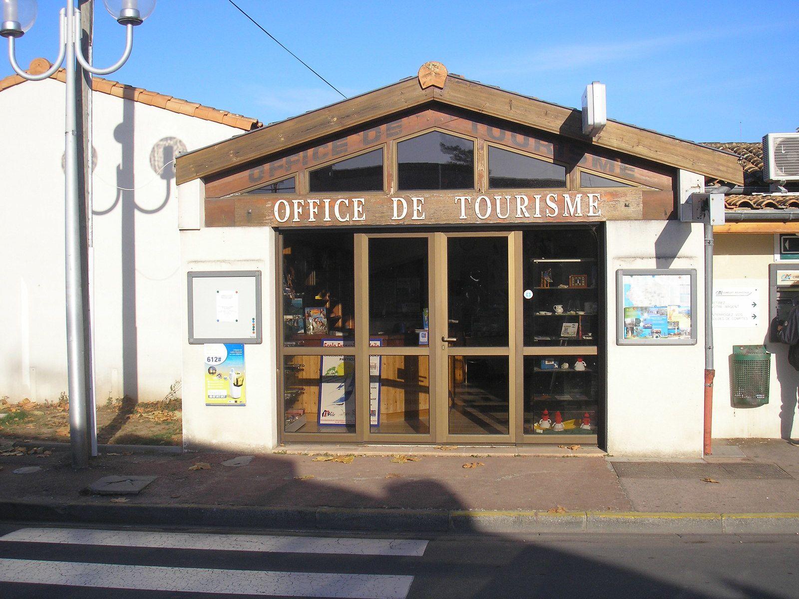 Le nouvel Office de tourisme bâti au début des années 90