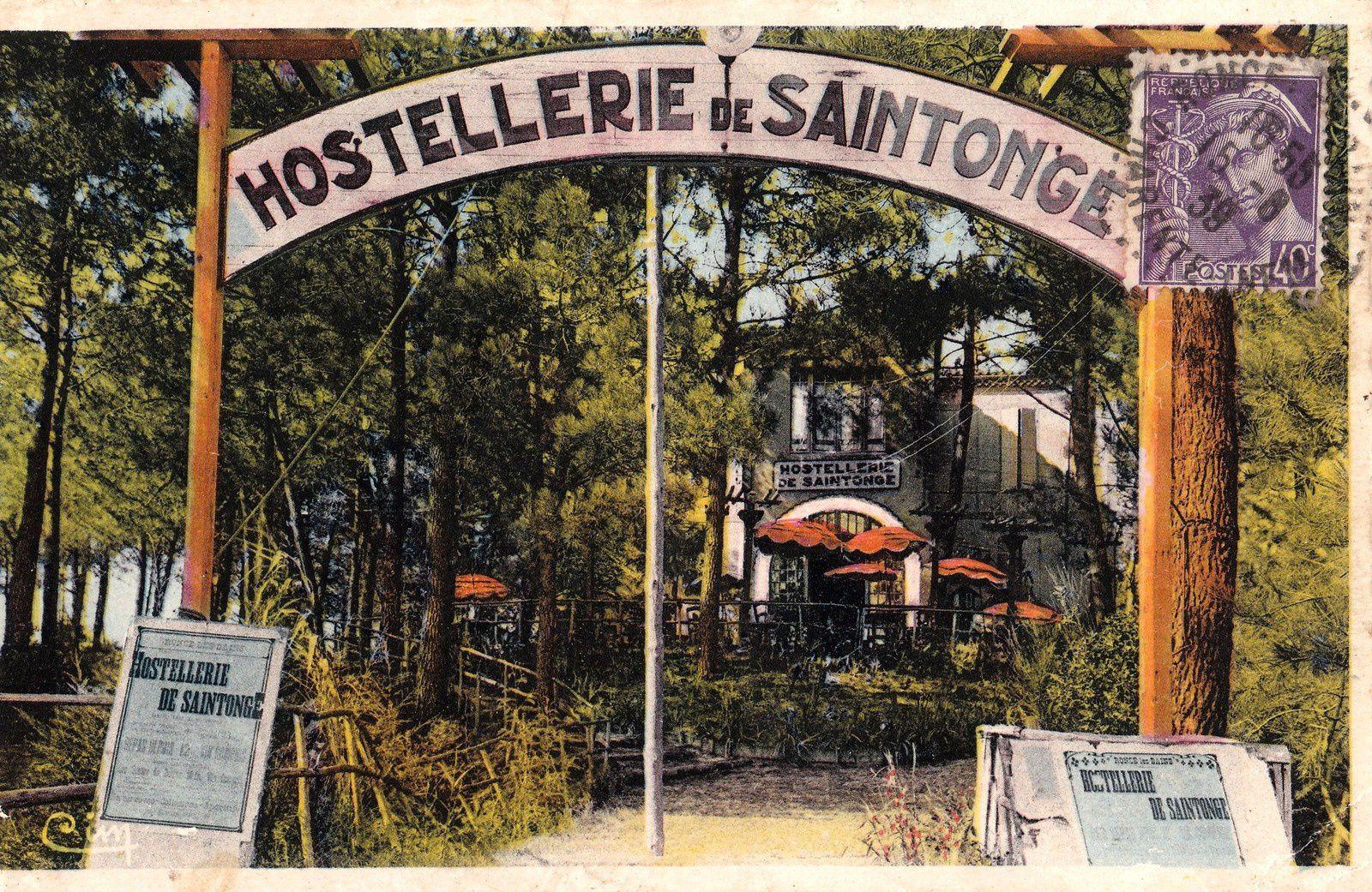 L'Hostellerie de Saintonge, avenue de Saintonge en 1939