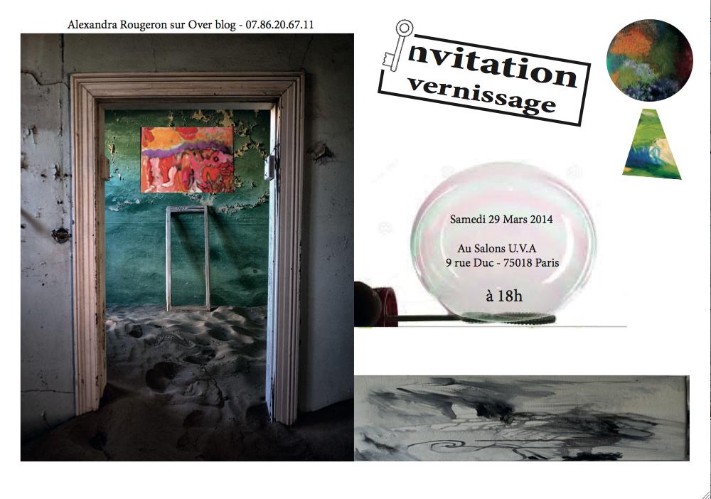 Organisée par l'Académie Européenne des Arts du 29 Mars au 6 Avril 2014. Métro: Jules Joffrin - Bus: 31-80-85-60 | De 15h à 19h  (entrée libre)