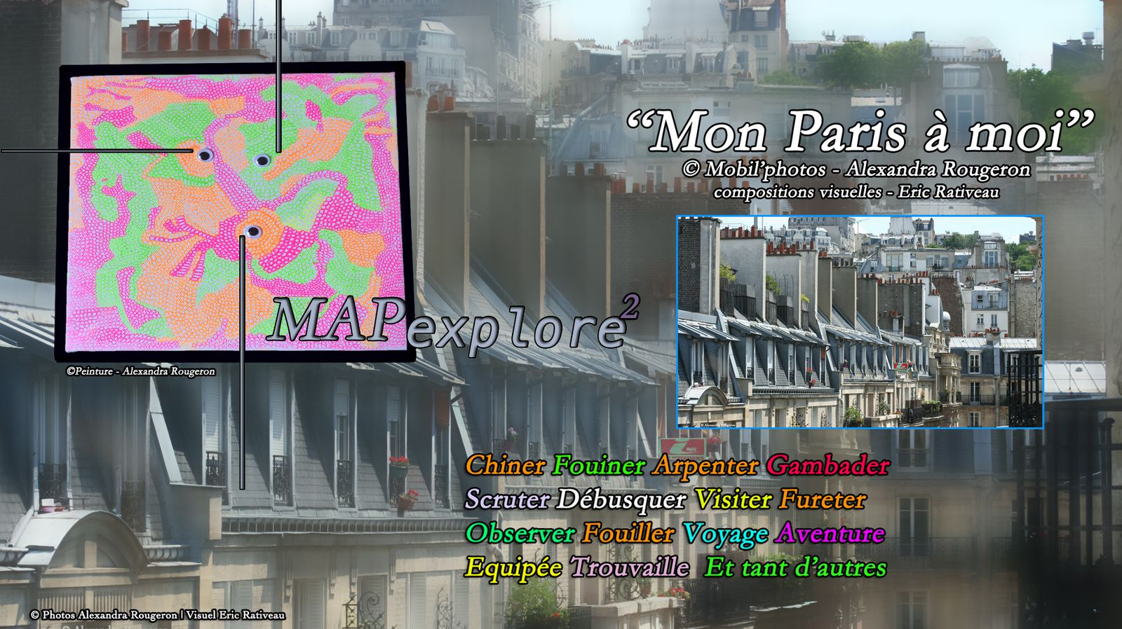Bienvenue à vous. Montmartre Paris 18ème : Un univers