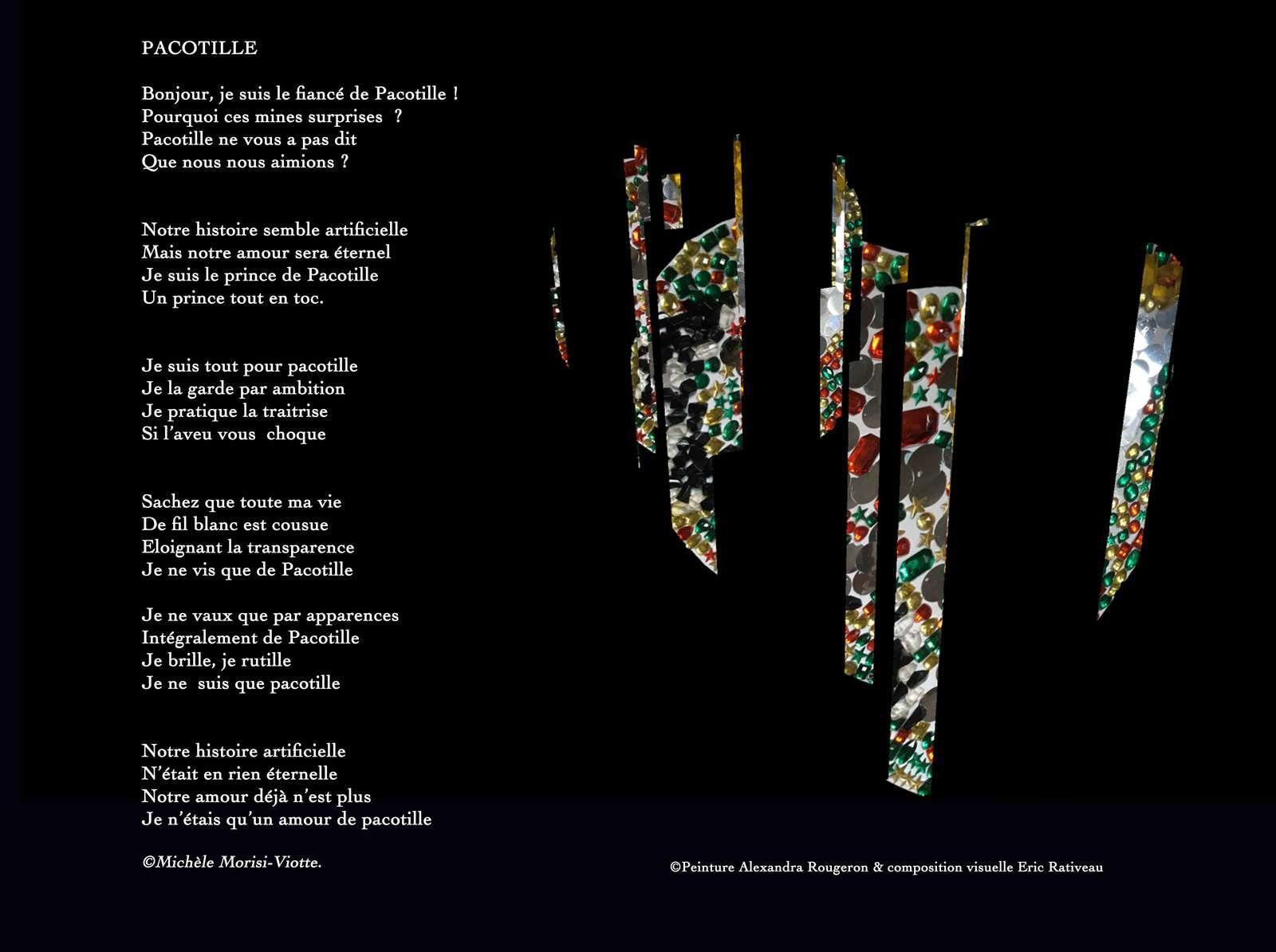 Cliquez sur l'image pour l'aggrandir | Avec la complicité d'écriture de Michéle sur le royaume de Pacotille.