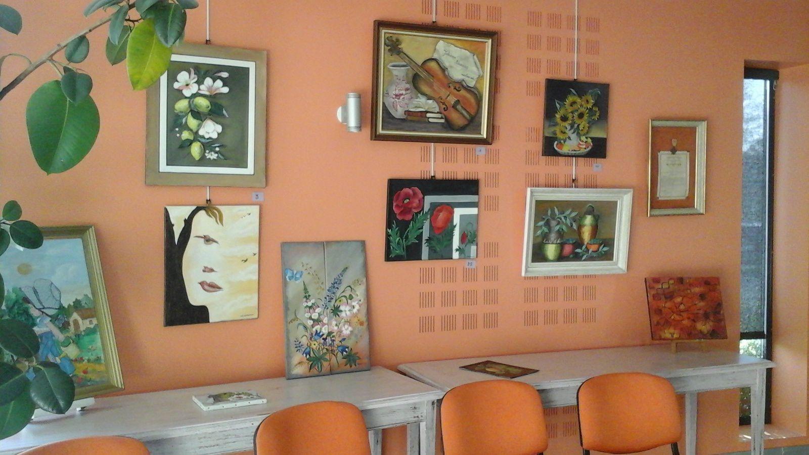 Voici quelques photos de mon exposition