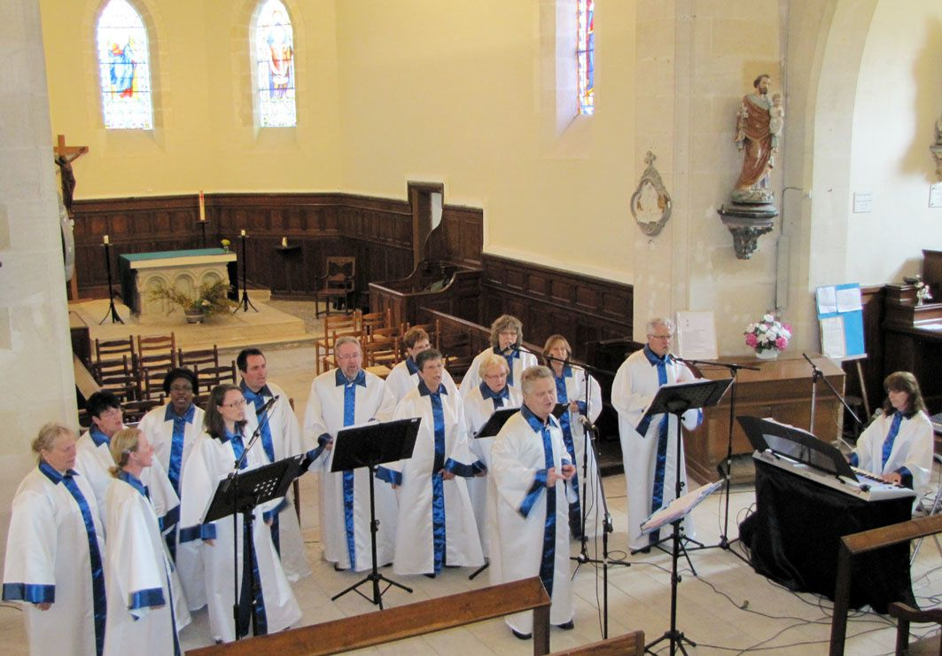 Ensemble Vocal Gospel Scherzo : à 18h Eglise de St Doulchard