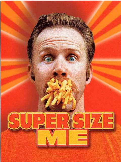 &quot&#x3B;Super size me&quot&#x3B; : A table avec Mc Do