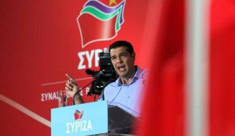 Alexis Tsipras, président de Syriza