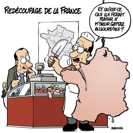 Ce que cache la réforme territoriale !