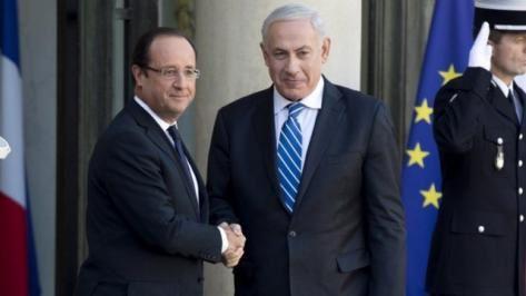 Entretien avec le Premier ministre israélien : communiqué de l'Elysée http://www.elysee.fr/communiques-de-presse/article/entretien-avec-le-premier-ministre-israelien/