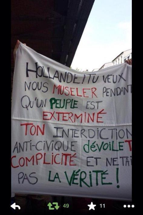 Manifestation interdite à Paris, autorisée à Clermont Ferrand et nos gouvernants n'ont toujours pas honte !