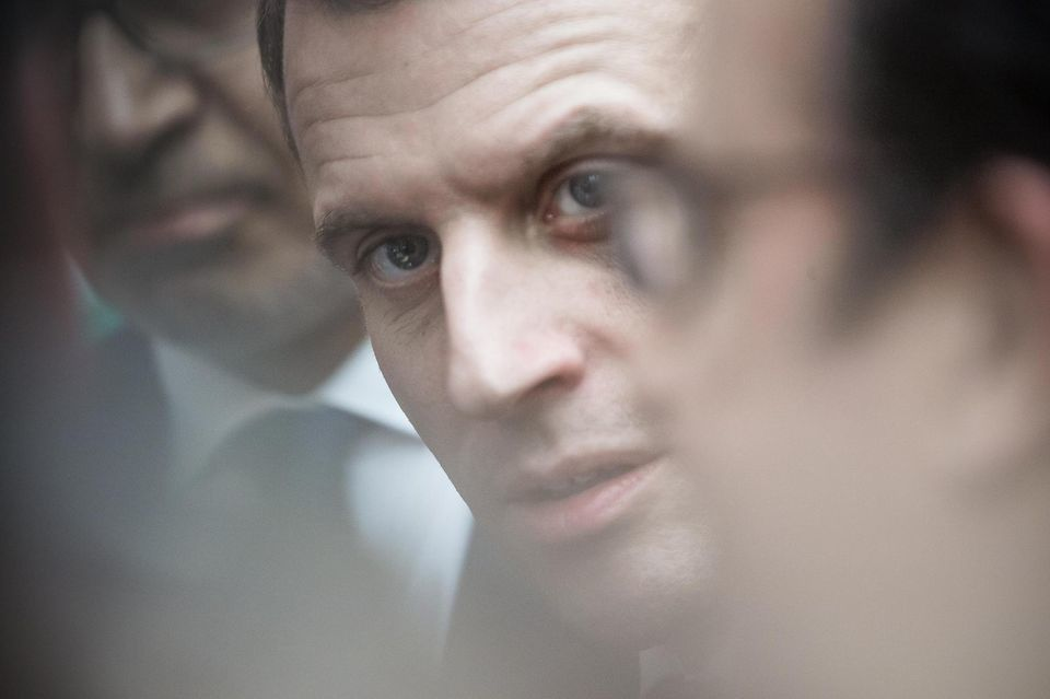 Emmanuel Macron à Paris, le 2 mars 2016. Photo Laurent Troude pour «Libération»