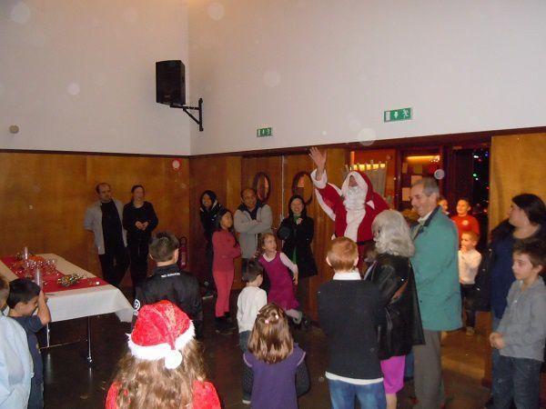 Le 24 au soir, le Père Noel était beurot